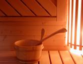 Sauna-ontspanning