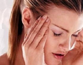 barstende hoofdpijn