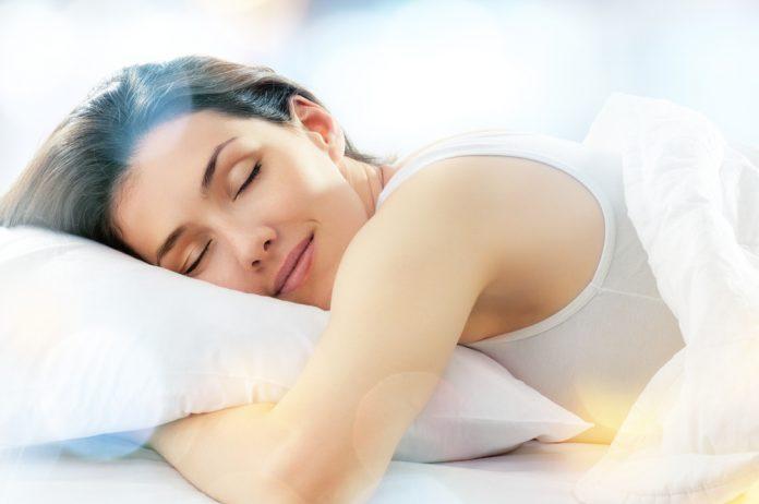 effectief slapen vrouw
